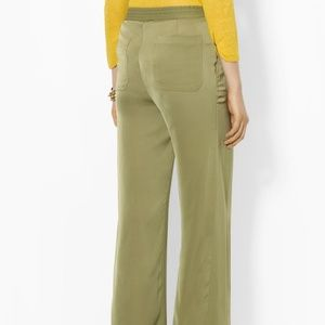 LAUREN RALPH LAUREN SILK PANTS